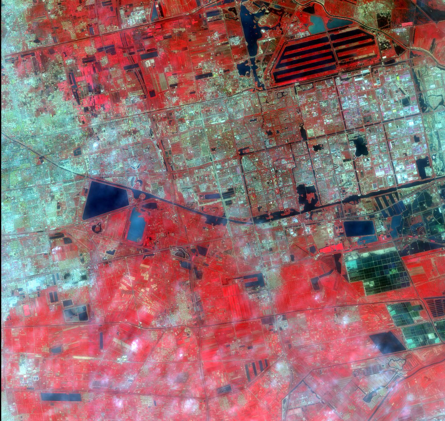 高分1、2号卫星遥感影像数据